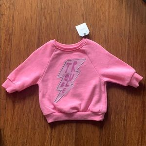 Bright Pink Baby sweater